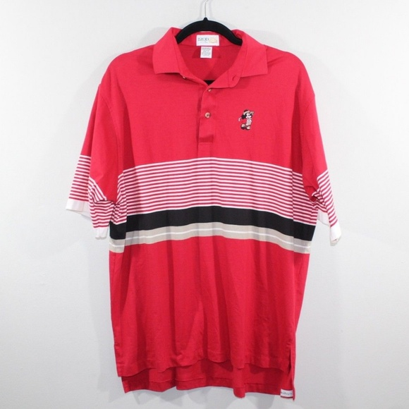 18f39d1c5b IZOD Shirts | Vintage 80s Club Mickey Mouse Golf Polo Shirt | Poshmark